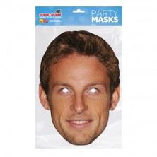Papírová maska Jenson Button