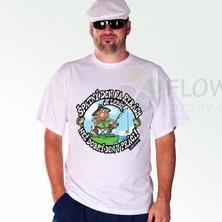 Tričko Špatný den na rybách