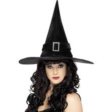 Dámský klobouk Čarodějnice se sponou