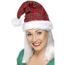 Vánoční čepice se vzorem