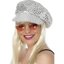 Čepice Disco stříbrná