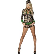 Dámský kostým Sexy vojanda II