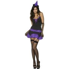 Dámský kostým Sexy čarodějnice II