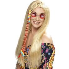 Paruka Hippie Party s copem blond