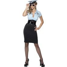Dámský kostým Sexy policistka I