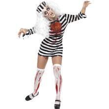 Dámský kostým Zombie vězenkyně