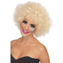 Paruka Funky Afro blond
