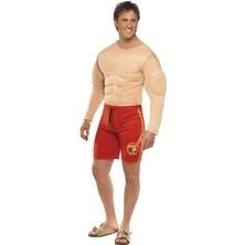 Pánský kostým Baywatch Lifeguard svalovec