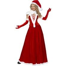 Kostým Miss Santa lux