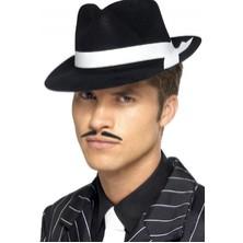 Klobouk Al Capone černý