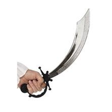 Pirátská šavle černá rukojeť 50 cm