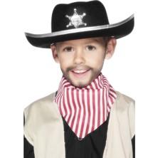 Dětský šerifský klobouk se znakem