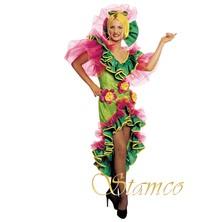 Dámský kostým Puerto Riko