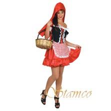 Kostým Červená Karkulka pro dospělé