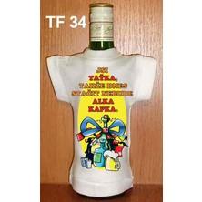 Tričko na flašku Jsi taťka, takže dnes stačit...