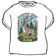 Tričko Celoročně říjící jelen