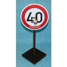 Značka 40 Věčně mladej