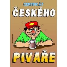 Certifikát českého pivaře