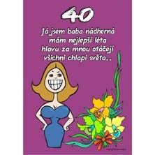 Certifikát 40 pro ženu