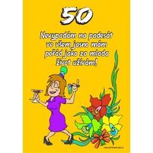 Certifikát 50 pro ženu