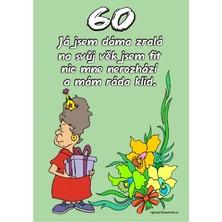 Certifikát 60 pro ženu