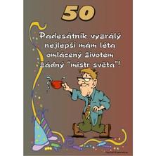 Certifikát 50 pro muže