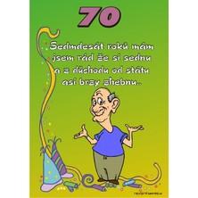Certifikát 70 pro muže