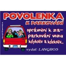 Povolenka k parkování